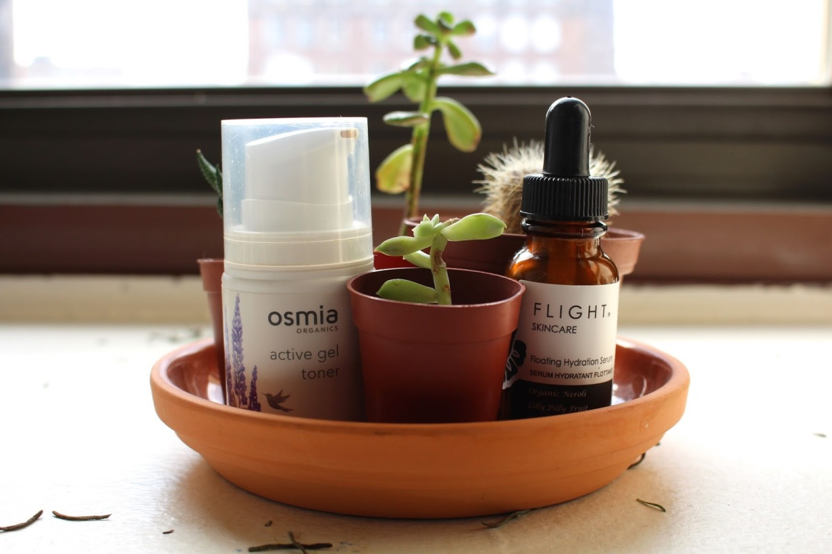 Winter Essentials Tag: Osmia Organics and Flight Skincare